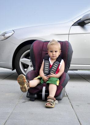 Den richtigen Kindersitz finden