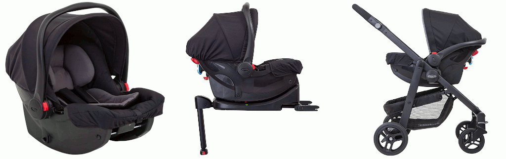 Graco SnugEssentials i-Size Babyschale