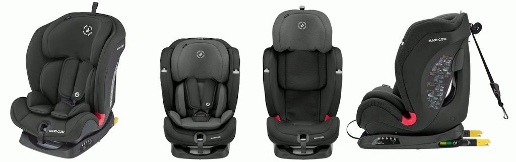 Der Maxi Cosi Titan Auto Kindersitz wird mittels Isofix befestigt