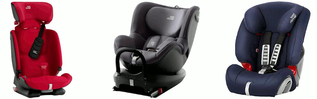 Test Britax-Römer Kindersitz